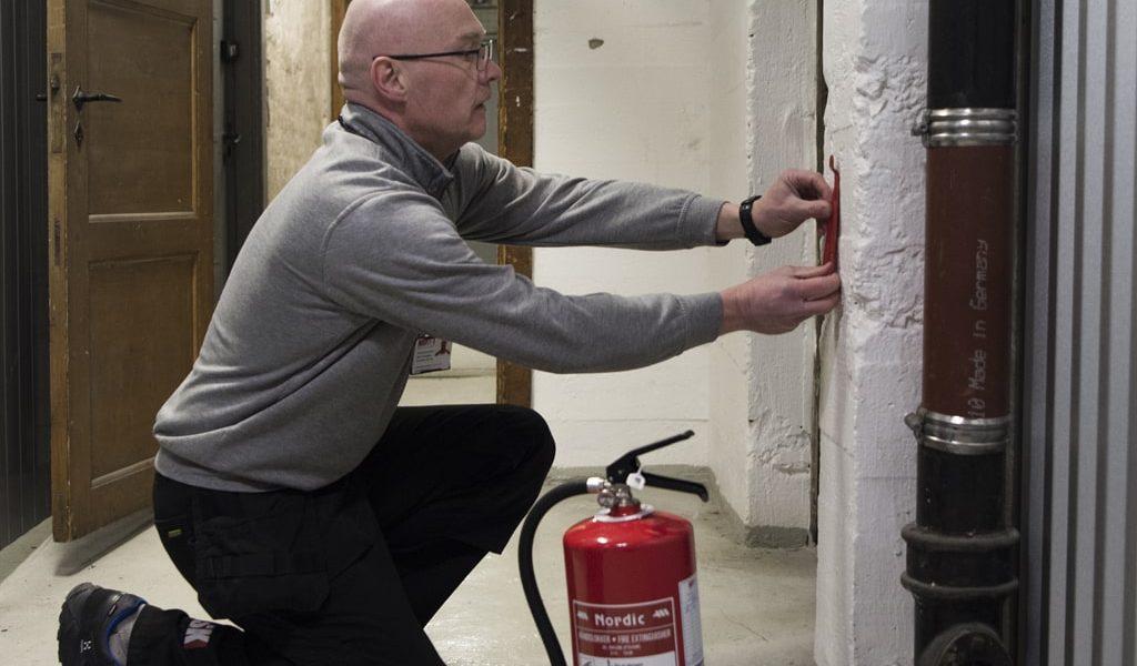 Brannsikkerhet digital egenkontroll