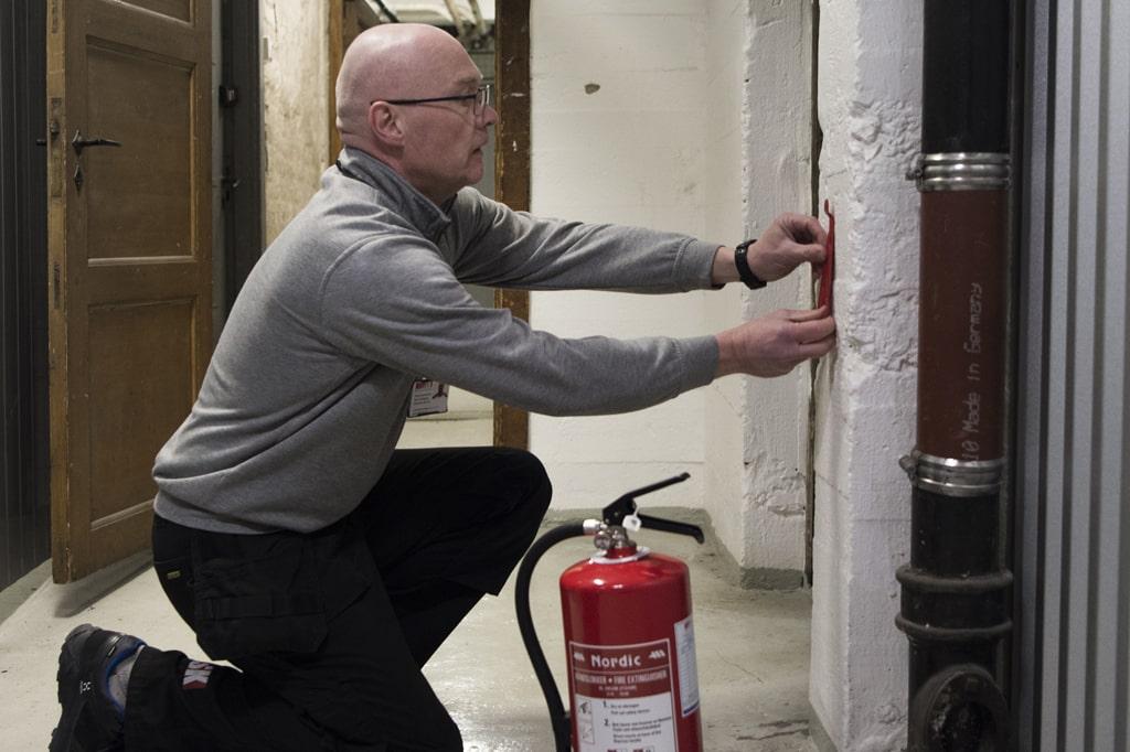 Brannsikkerhet. Gjør arbeidet enklere med digitale egenkontroller