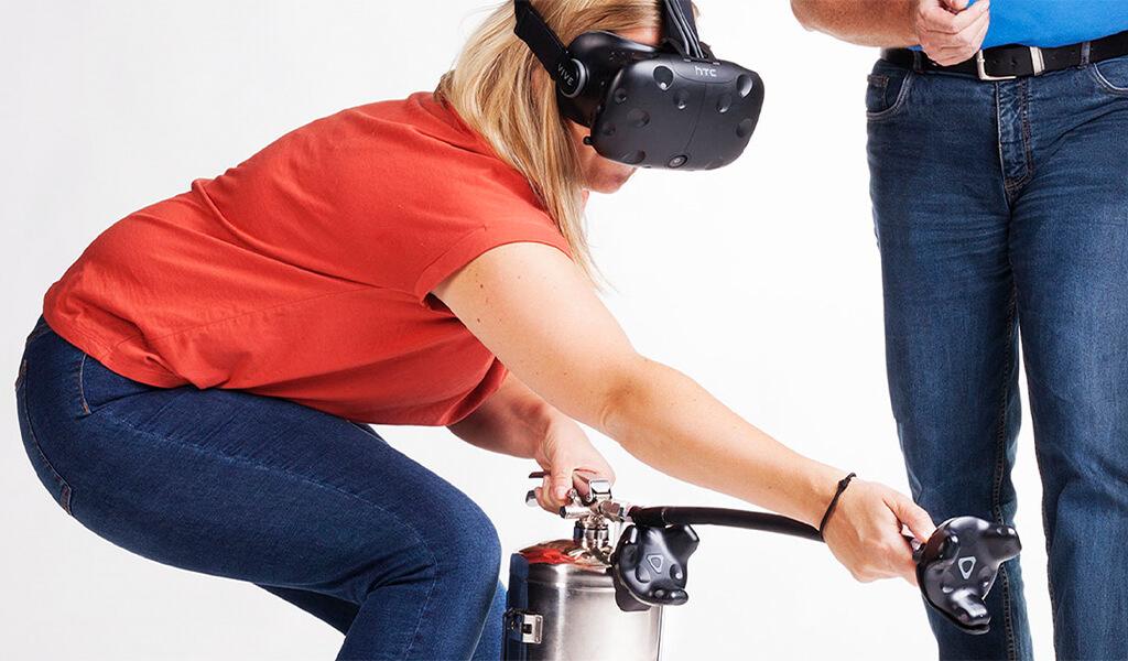 Virtual Reality brannøvelse