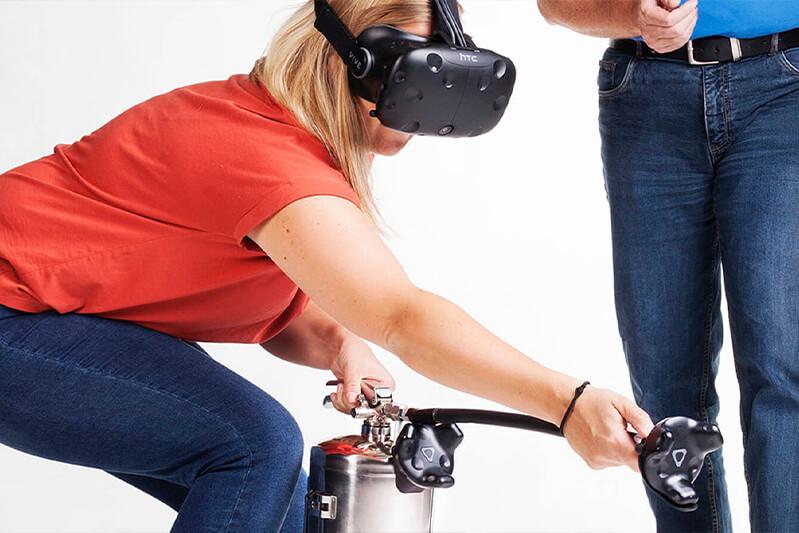 Brannøvelse VR